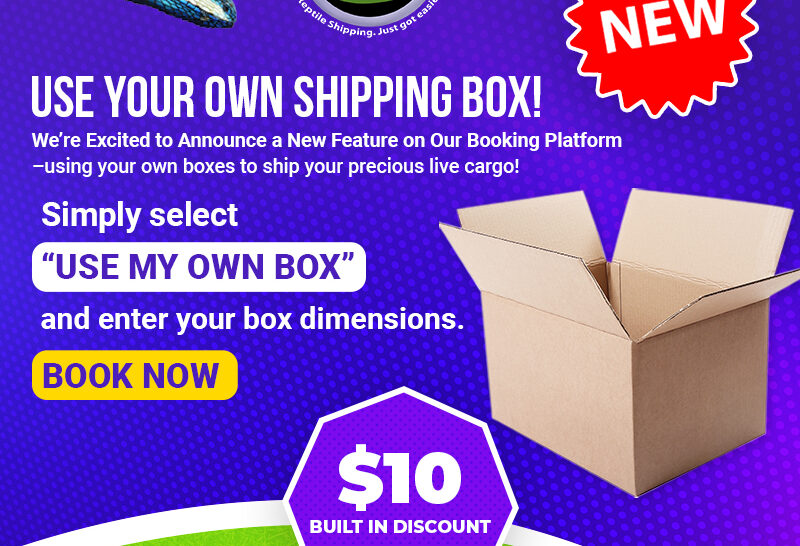 Want to use your own box? No problem!